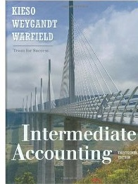 Intermediate  Accounting by Donald Kieso and Jerry Weygandt