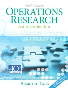 Hamdy A Taha's Operations management text book Operations Research An Introduction