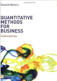 Quantitative Methods for Business by Donald Walters