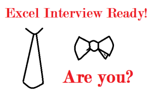 Are you ready for Microsoft Excel interviews