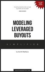 Modeling Leveraged Buyouts Tutor